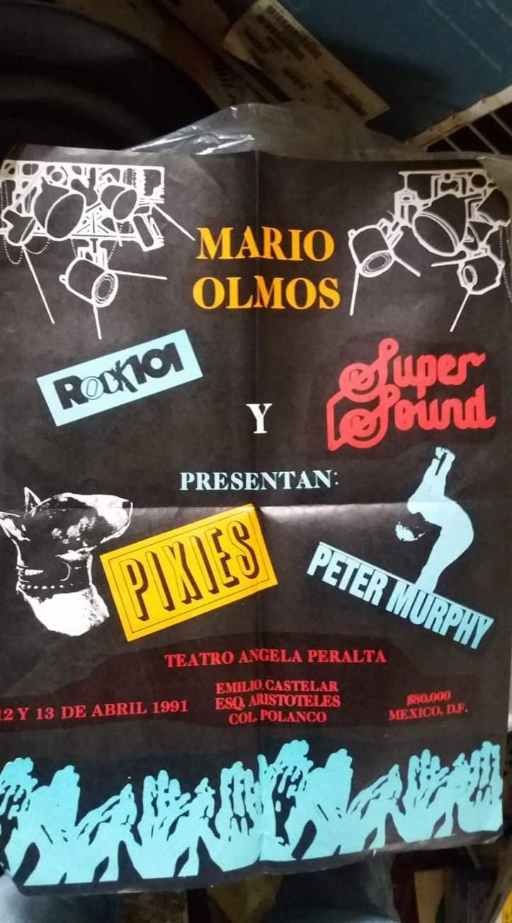 Pixies y peter Murphy