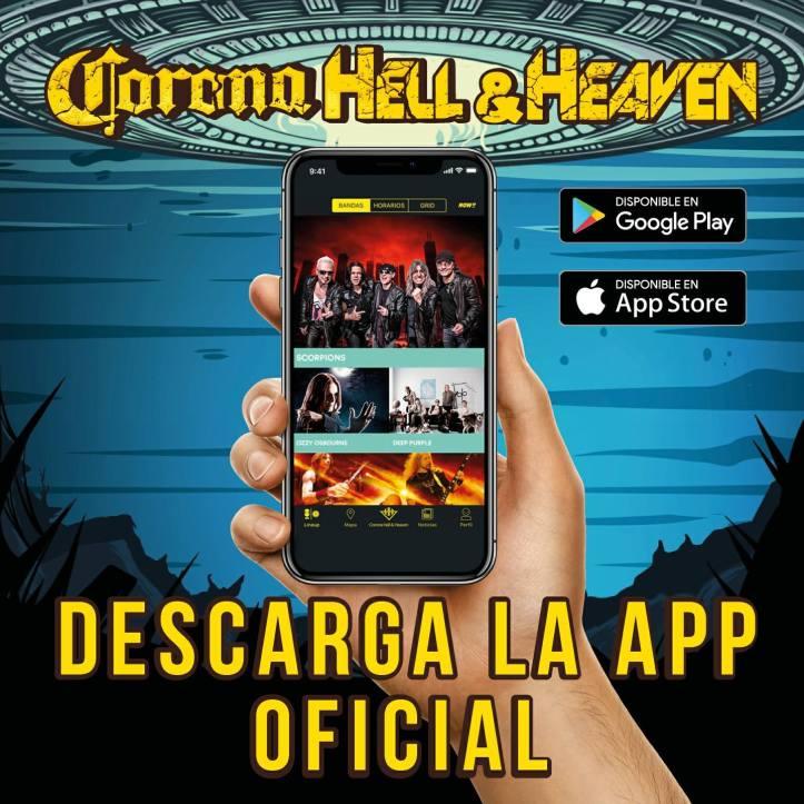 Corona Hell and Heaven 2018 - Descarga la App Oficial