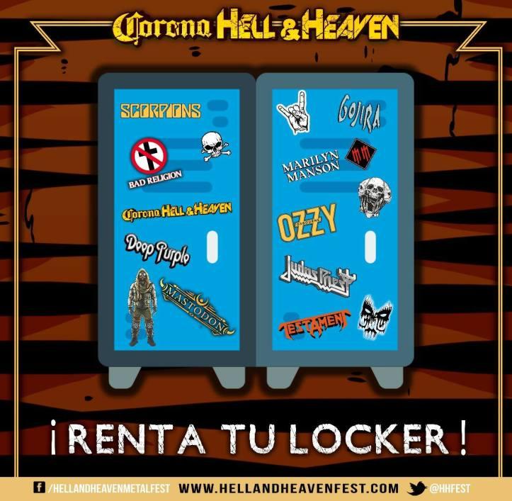Corona Hell and Heaven 2018 - Lockers