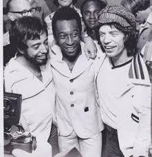 Jagger y Pelé